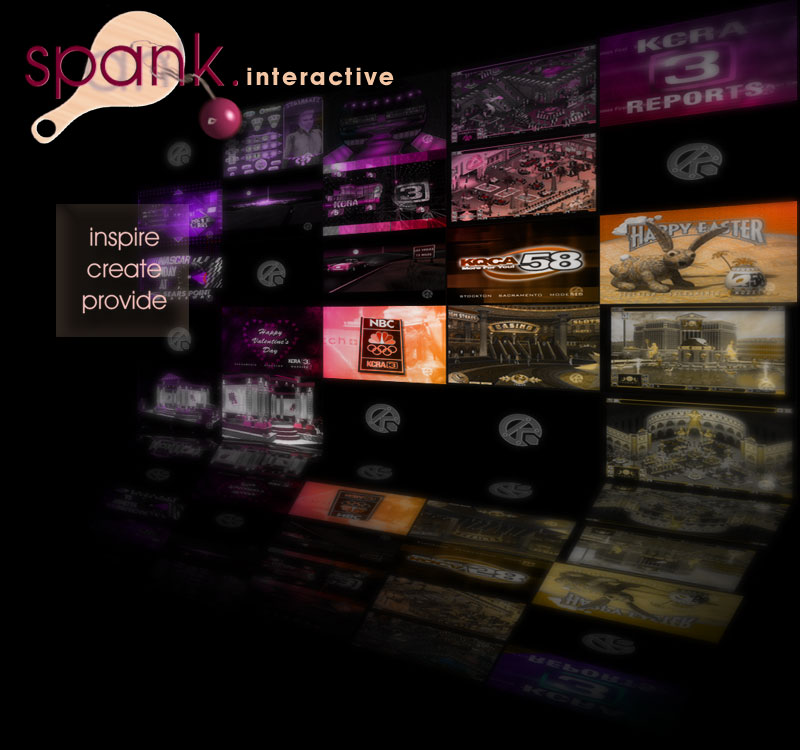 Welcome to Spank . Interactive
